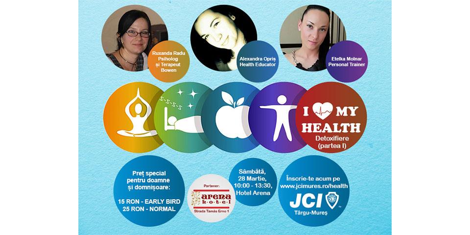 """Proiectul """"I Love My Health"""" de JCI Târgu-Mureș"""