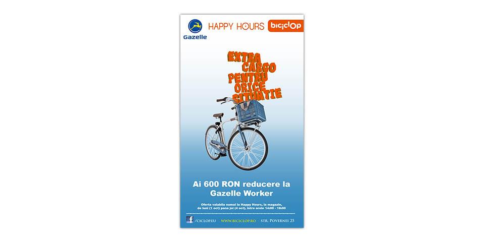 Biciclop Happy Hours 1-7 October 2012