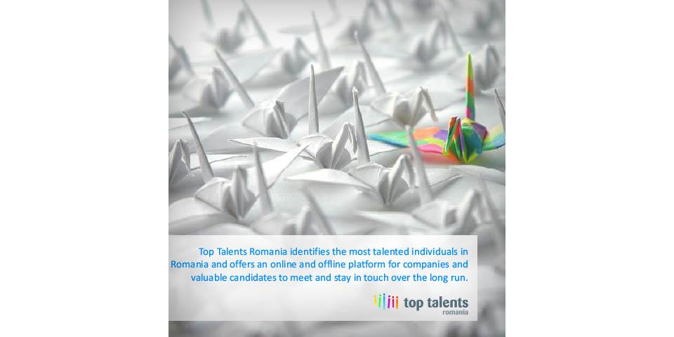 Prezentare Catalyst Top Talents Romania 2009