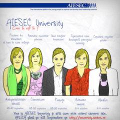 """AIESEC Bucharest's """"AIESEC University"""" Workshops 2009"""