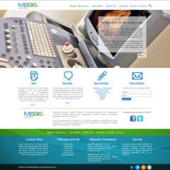 Medis Website Layout
