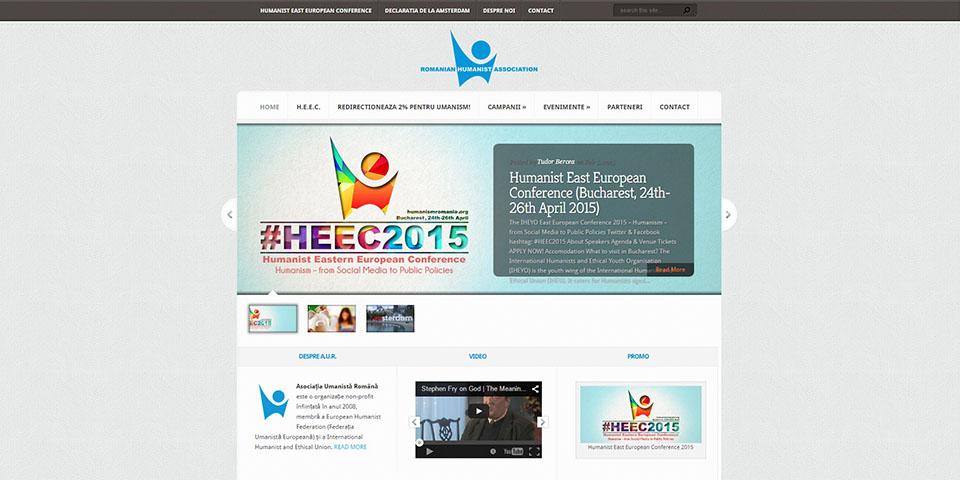 Reconstrucția Website-ului Oficial al Asociației Umaniste Române