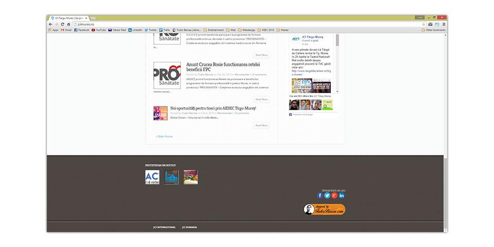 JCI Targu-Mures Official Website