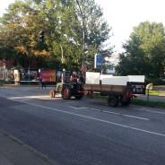 Riding the Tractor through Hamburg