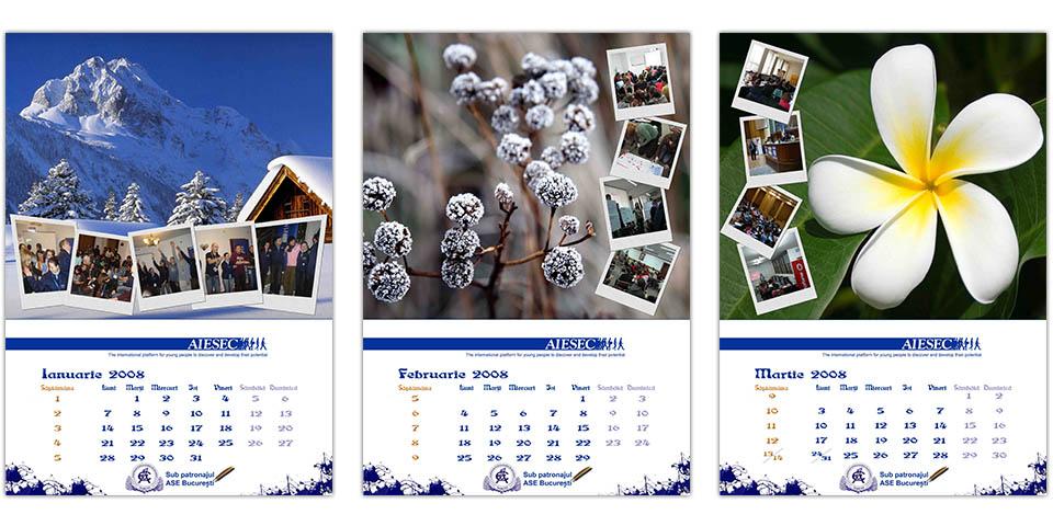 AIESEC Bucharest Calendar for ASE
