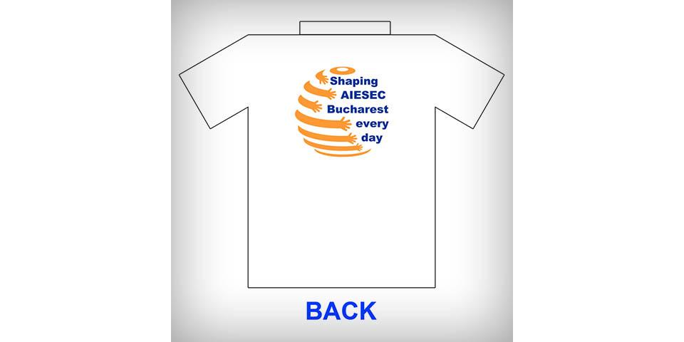 AIESEC Bucharest T-Shirt and Bracelet for 2009-2010