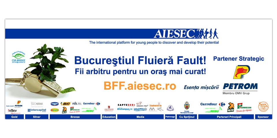 AIESEC Bucharest CSR Bridge & BFF