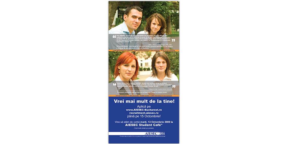 AIESEC Bucharest & AIESEC Romania Recruitment for Autumn 2009
