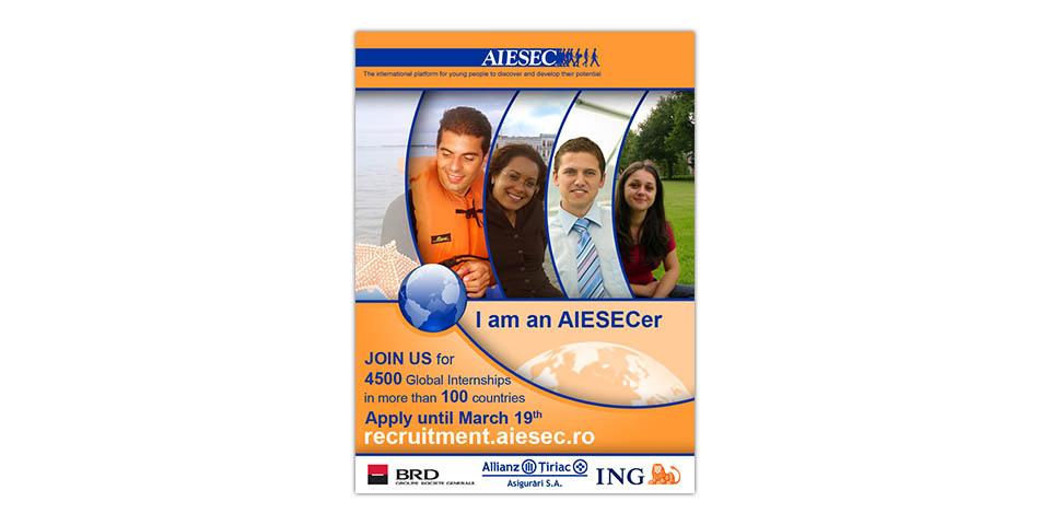 AIESEC Bucharest & AIESEC Romania Recruitment Spring 2008