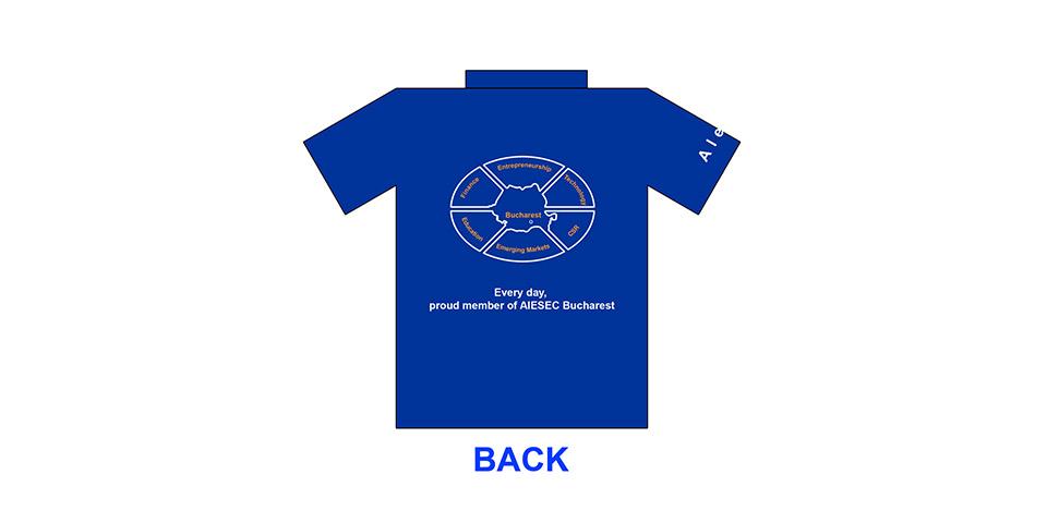 AIESEC Bucharest T-Shirt for 2007-2008