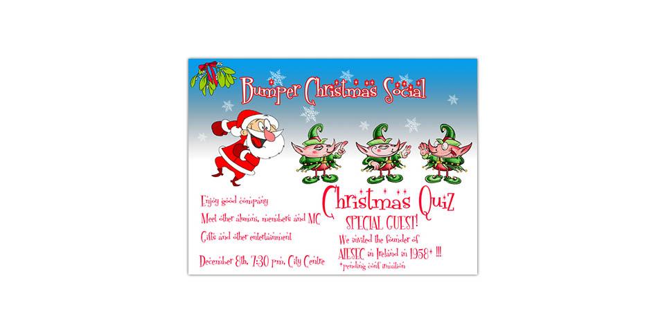 "AIESEC Ireland's ""Christmas Social"""