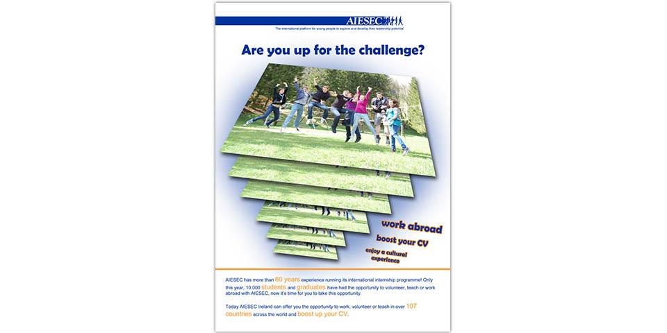 AIESEC Ireland's eXchange Campaign 2010