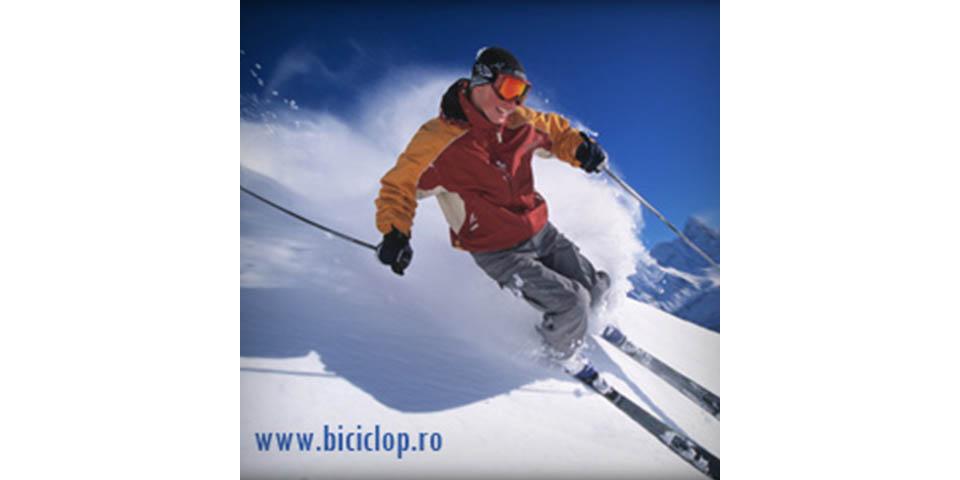 Biciclop Ski Banner
