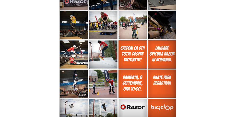 Biciclop Razor Campaign