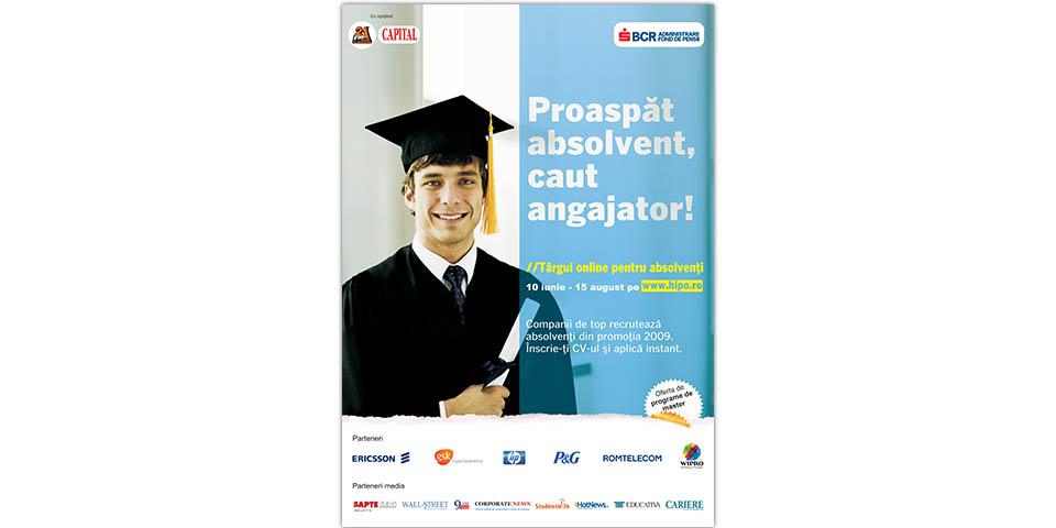 "Catalyst ""Tirgul Online Pentru Absolventi"" (TOPA 2009)"