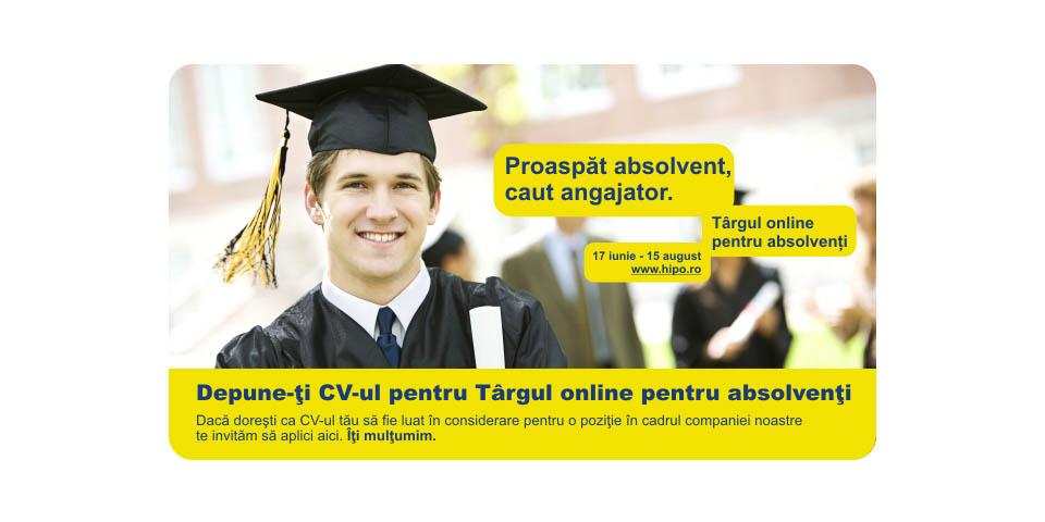"Catalyst's ""Tirgul Online Pentru Absolventi"" 2010 Campaign"