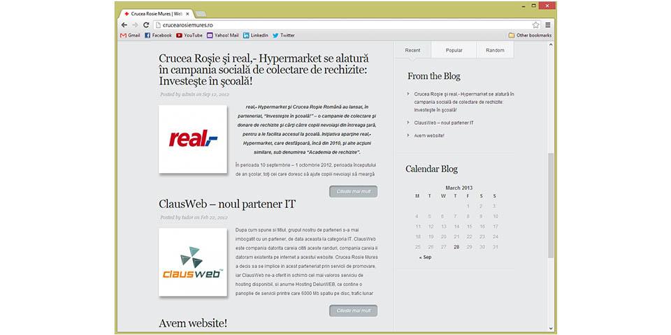 Red Cross Mures Official Website – www.crucearosiemures.ro