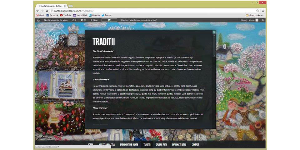 Mugur and Raluca Florea's Wedding Website – www.nuntamugurilordevisin.ro