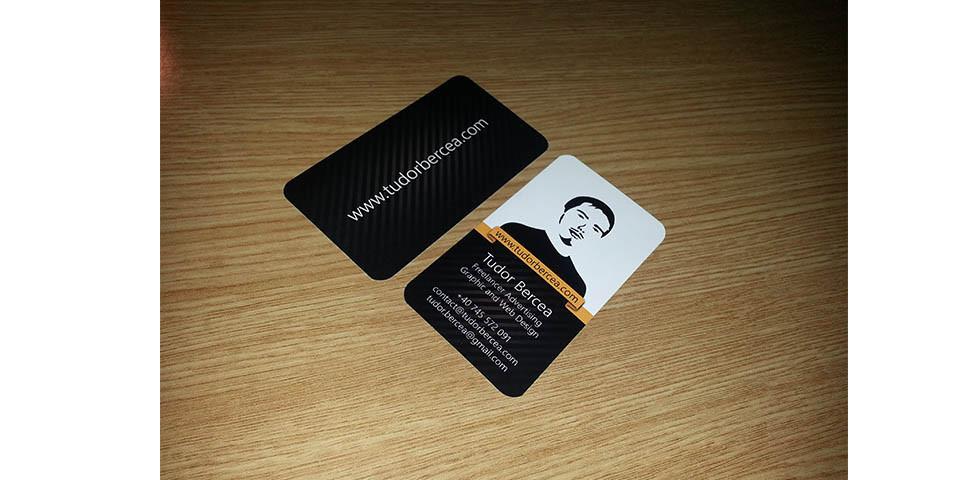 Freelance Business Cards for www.tudorbercea.com
