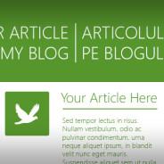 Write on my blog!